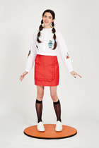 THE WHITEPEPPER blouse - THE WHITEPEPPER skirt