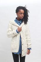 THE WHITEPEPPER cardigan - THE WHITEPEPPER shirt - THE WHITEPEPPER pants