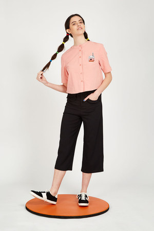 THE WHITEPEPPER blouse - THE WHITEPEPPER pants