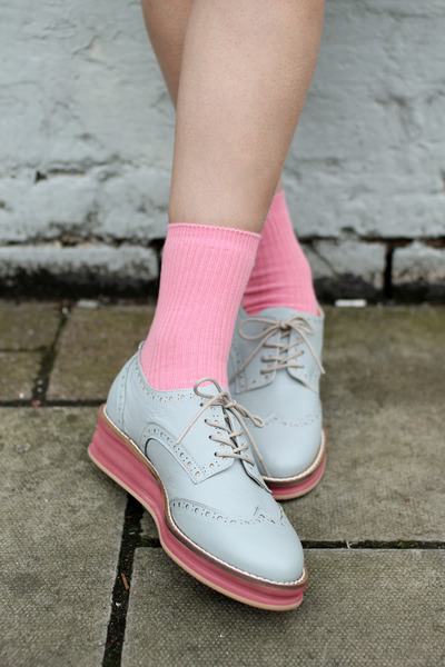 the whitepepper shoes quot leather blue grey platform