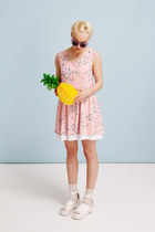 pink THE WHITEPEPPER dress - white THE WHITEPEPPER sandals