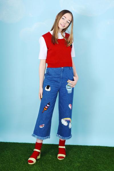 THE WHITEPEPPER jeans - THE WHITEPEPPER jumper