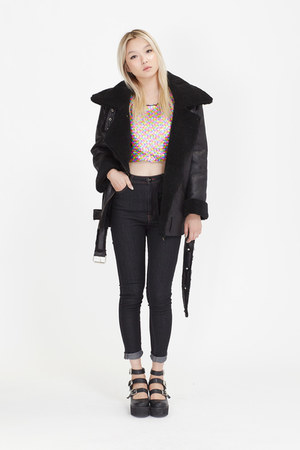 THE WHITEPEPPER jacket - THE WHITEPEPPER jeans - THE WHITEPEPPER top