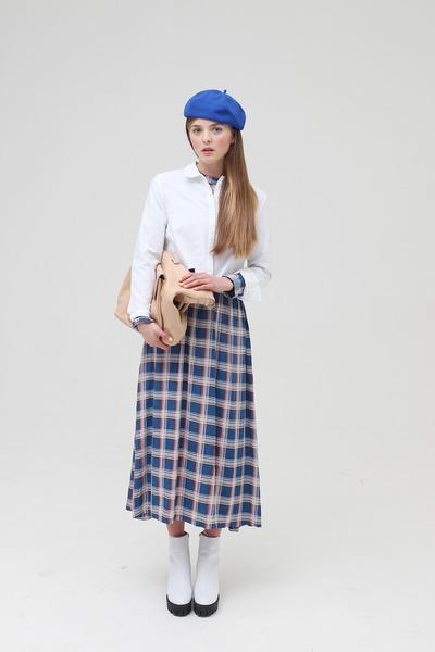 THE WHITEPEPPER boots - THE WHITEPEPPER dress - THE WHITEPEPPER shirt