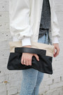 Off-white-faux-leather-the-whitepepper-bag