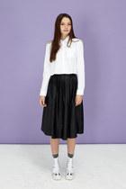 midi THE WHITEPEPPER skirt - cropped THE WHITEPEPPER shirt