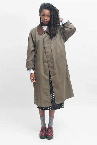 THE WHITEPEPPER coat - THE WHITEPEPPER shoes - THE WHITEPEPPER dress