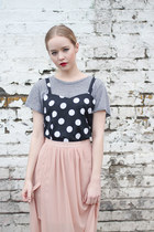 Black-polka-dot-the-whitepepper-vest