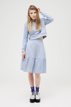 THE WHITEPEPPER skirt - THE WHITEPEPPER shoes - THE WHITEPEPPER socks