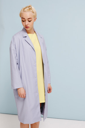 THE WHITEPEPPER coat - THE WHITEPEPPER dress - THE WHITEPEPPER socks