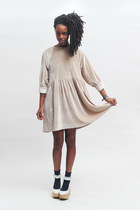 THE WHITEPEPPER dress - THE WHITEPEPPER wedges