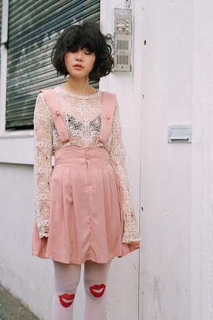 light pink THE WHITEPEPPER dress