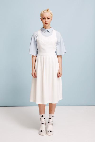 THE WHITEPEPPER shirt - THE WHITEPEPPER dress - THE WHITEPEPPER socks