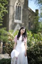 ivory THE WHITEPEPPER dress - pink THE WHITEPEPPER top
