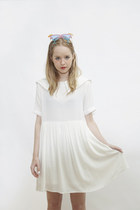 white THE WHITEPEPPER dress