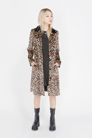 THE WHITEPEPPER coat - THE WHITEPEPPER boots - THE WHITEPEPPER dress