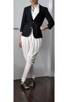 blue Dillards blazer - white Guess shirt - pink Phi pants - blue PROENZA SCHOULE