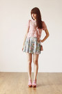 Light-pink-vintage-bag-bubble-gum-romwe-top-light-blue-floral-vintage-skirt-