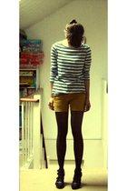 Cheap Monday shorts - H&M shirt - Graceland shoes
