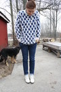 White-vintage-boots-navy-tenden-jeans-tenden-jeans-white-vintage-sweater