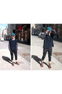 Cap-h-m-hat-crewneck-zara-sweater-cropped-uniqlo-pants