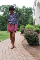 American Eagle dress - Anthropologie shirt - Payless sandals