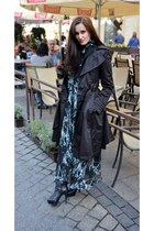 Cindy Crawford boots - Byoung dress - Zara coat