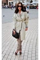 bohoboco coat - Bershka heels - H&M jumper