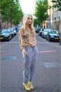 Yellow-zara-shoes-gray-monki-pants-yellow-h-m-trend-blouse