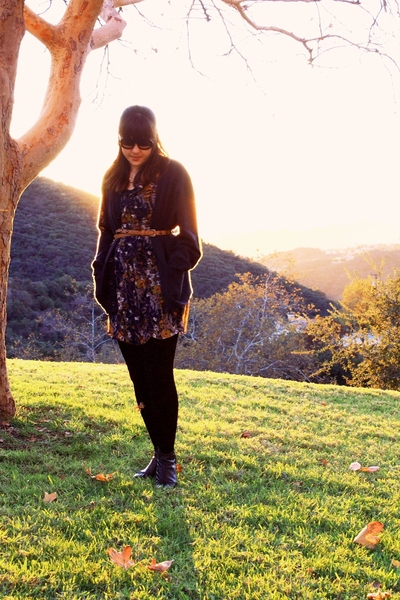 Target dress - Walmart sweater - American Apparel socks - HUE tights - Salvation