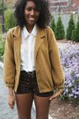 Brown-jordie-leopard-motel-shorts-bronze-american-apparel-jacket
