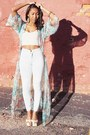 Turquoise-blue-dream-maxi-unif-dress-light-blue-easy-american-apparel-jeans