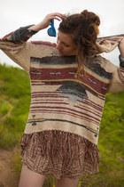hoodie free people sweater - sun dress Peppermint dress