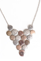 circular charm necklace