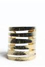Gold-spiral-bracelet