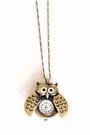 Bronze-owl-clock-necklace