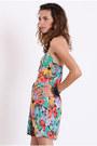 Printed Bustier Dresses