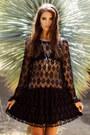 Black-lace-for-love-lemons-dress-silver-threadsence-necklace