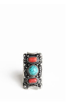 red pewter ring