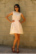 50s lace party dress