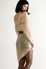 Beige-vintage-from-thriftednet-dress
