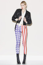 Red-american-flag-thrifted-modern-leggings