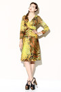 Tropical-print-vintage-dress