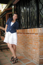 from Baguio ukay-ukay dress - thrifted vest - Syrup from PRP shoes