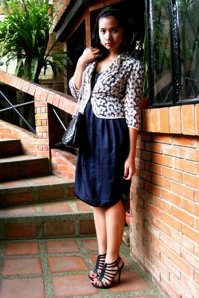 Culte Femme dress - Marc Jacobs jacket - prp shoes - vintage purse accessories
