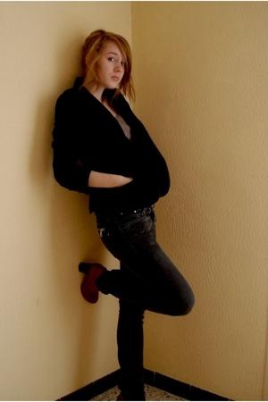 Sessn jacket - Melting Pot jeans - Kookai shoes