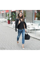 leather jacket Skingraft jacket - wrap pumps lulus shoes