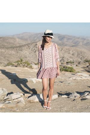 dress West Kei dress - feather fedora Eugenia Kim hat