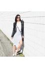 Leather-jacket-skingraft-jacket-white-tee-lna-shirt-alc-skirt