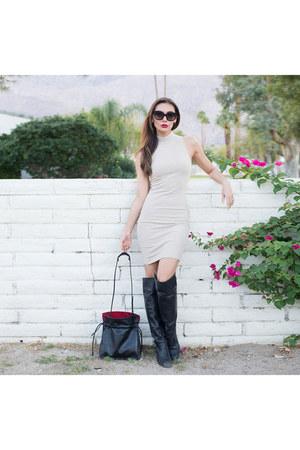 chambray shirt Bella Dahl shirt - otk boots Zara boots
